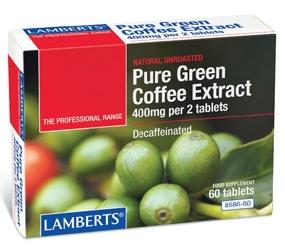Lamberts Extracto de Café Verde 60 comprimidos