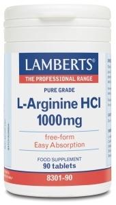Lamberts L-Arginina 1000mg 90 comprimidos