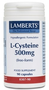 Lamberts L-Cisteina 500mg 90 cápsulas