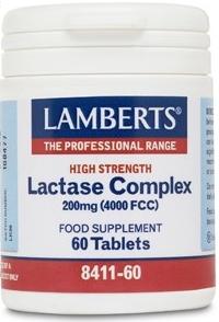 Lamberts Lactasa Complex 60 comprimidos