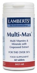 Lamberts Multi Max 60 comprimidos