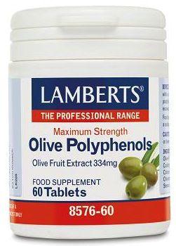 Lamberts Polifenoles de Oliva 60 comprimidos