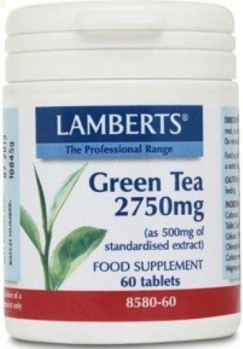 Lamberts Té Verde 60 comprimidos