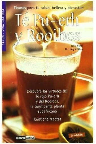 """Libro """"Té Pu-Erh y Rooibos"""""""