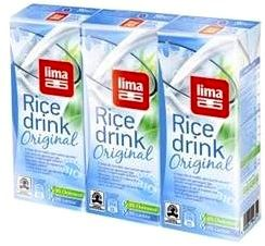 Lima Leche Arroz Mini 3u x 200ml