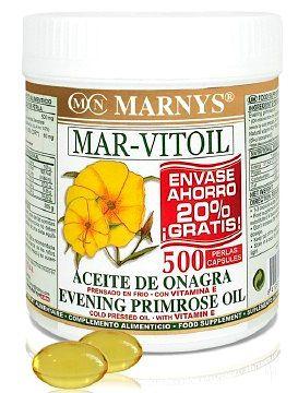 Marnys Aceite de Onagra 500mg 400 perlas