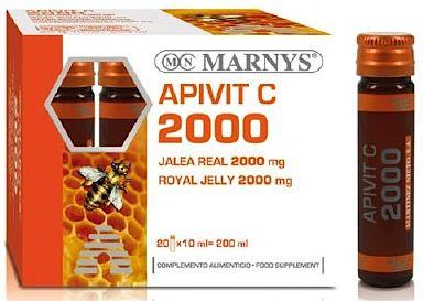 Marnys Apivit C Plus 2000mg 20 viales