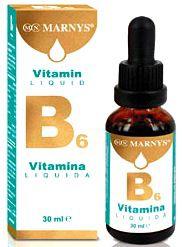 Marnys Vitamina B6 líquida 30ml