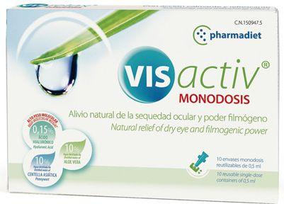 Masterdiet Vis Activ Gotas Oculares 10 monodosis