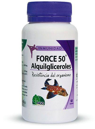 MGD Force 50 60 cápsulas