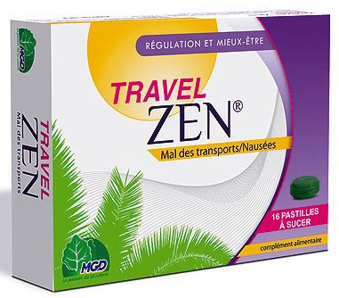 MGD Travel Zen 16 comprimidos