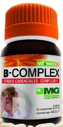 MGdose B-Complex 60 comprimidos
