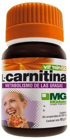 MGdose L-Carnitina 60 comprimidos