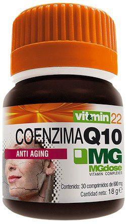 MGdose Coenzima Q10 30 comprimidos
