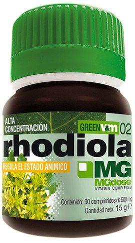 MGdose Rhodiola 30 comprimidos