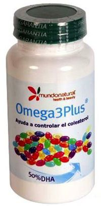 Mundonatural Omega 3 Plus 90 cápsulas