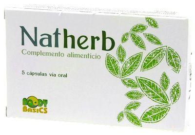 Natherb 5 cápsulas