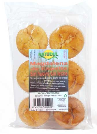 Natudul Magdalenas 6 unidades