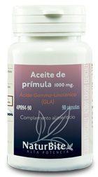 Naturbite Aceite de Prímula 1000mg 90 cápsulas
