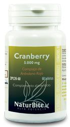 Naturbite Cranberry 5000mg 60 comprimidos