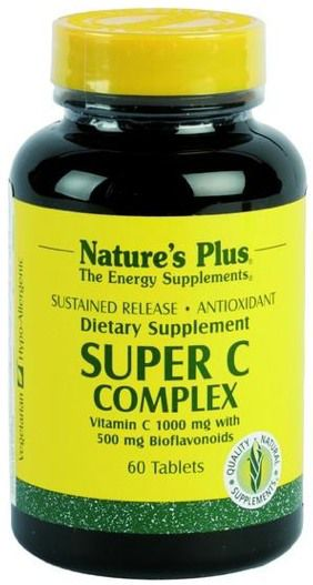 Nature's Plus Super C Complex 60 comprimidos
