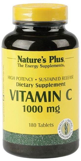 Nature's Plus Vitamina C 1000mg 180 comprimidos
