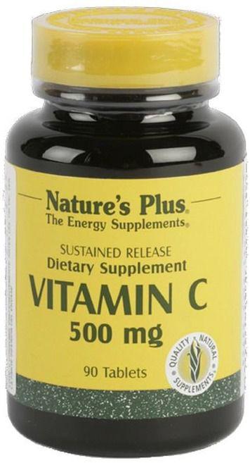 Nature's Plus Vitamina C 500mg 90 comprimidos