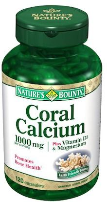 Nature's Bounty Calcio Coralino Plus 120 capsulas