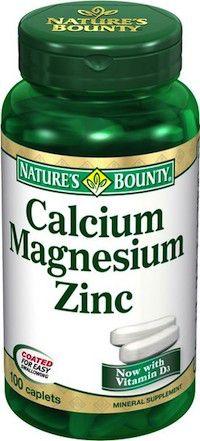Nature´s Bounty Calcio, Magnesio y Zinc 100 comprimidos