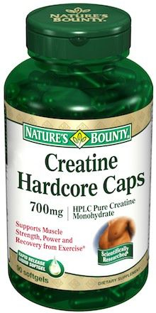 Nature´s Bounty Creatina 700mg 120 cápsulas