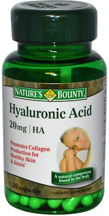 Nature´s Bounty Ácido Hialurónico 20mg 30 cápsulas