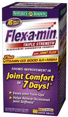 Nature´s Bounty Flex a min con Joint Flex 60 comprimidos