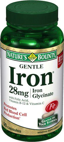 Nature´s Bounty Gentle Iron 90 cápsulas