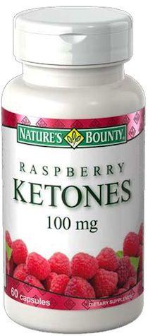 Nature´s Bounty Raspberry Ketones 60 cápsulas