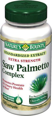 Nature´s Bounty Saw Palmetto Complex 120 perlas