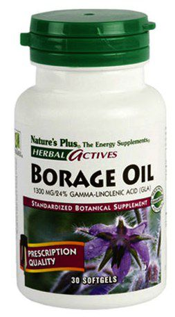 Nature's Plus Aceite de Borraja 30 cápsulas