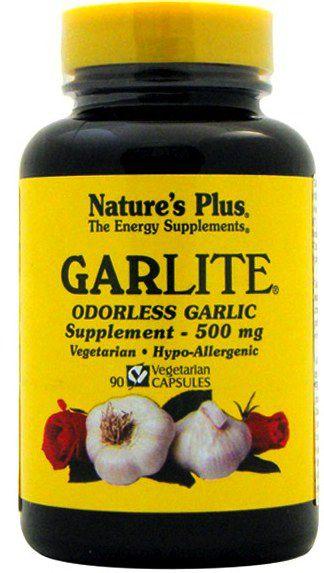 Nature's Plus Ajo Desodorizado-Garlite 90 cápsulas