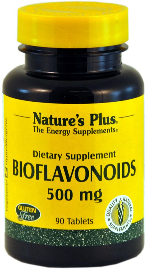 Nature's Plus Bioflavonoides 500mg 90 comprimidos