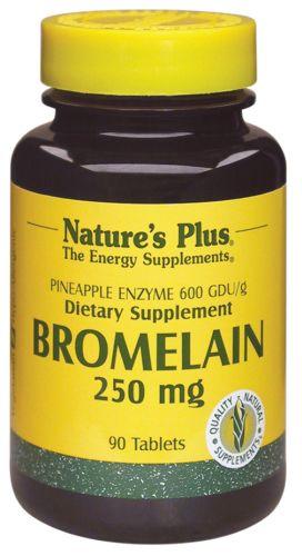 Nature's Plus Bromelaína 250mg 90 comprimidos