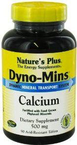 Nature's Plus Dyno-Mins Calcio 250mg 90 comprimidos
