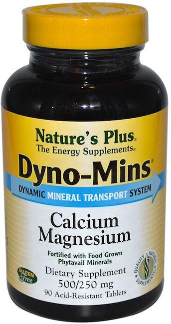 Nature's Plus Dyno-Mins Calcio Magnesio 90 comprimidos