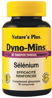 Nature's Plus Dyno-Mins Selenio 47,5 mcg 60 comprimidos