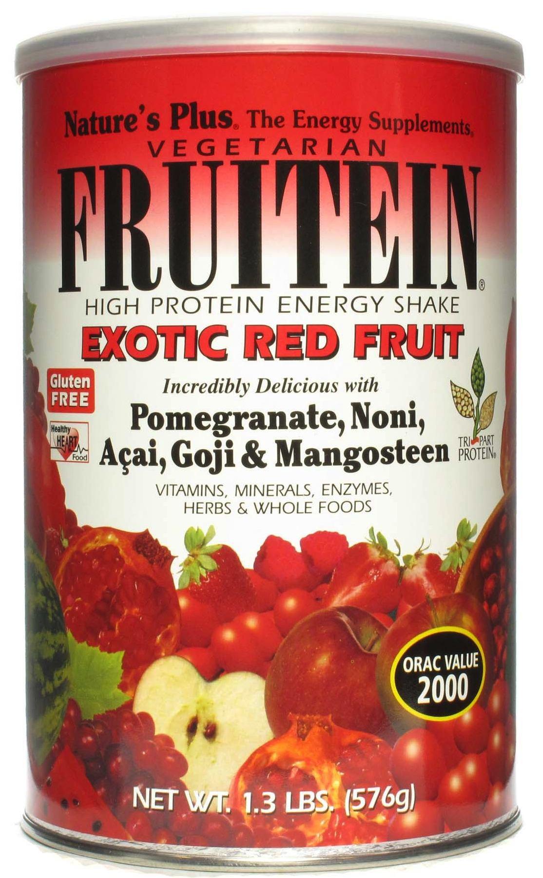Nature's Plus Fruitein Frutos Rojos Exóticos 576g