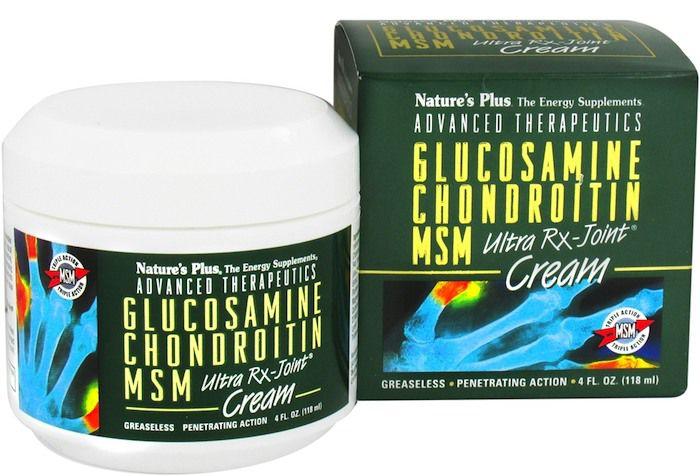 Nature's Plus Glucosamina Condroitina MSM Crema 118ml