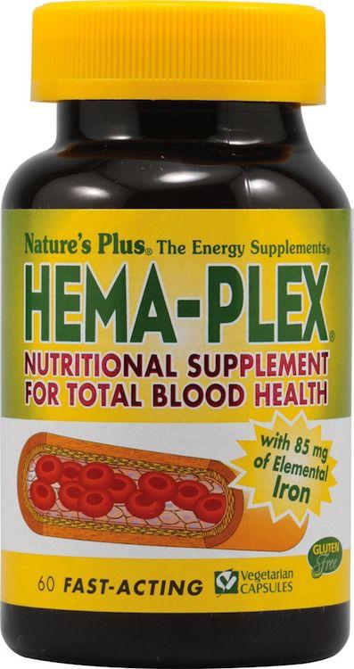 Nature's Plus Hema-Plex II 60 comprimidos