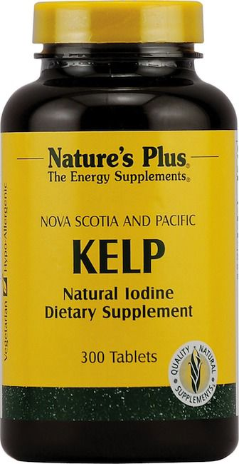 Nature's Plus Kelp-Yodo 300 comprimidos