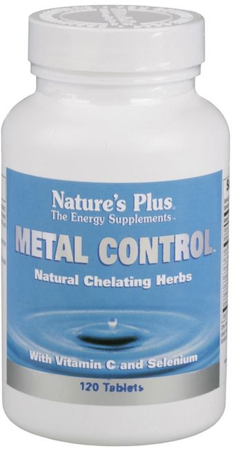 Nature's Plus Metal Control 120 comprimidos
