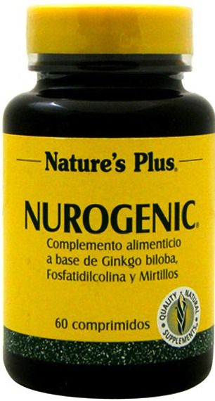 Nature's Plus Nurogenic 60 comprimidos