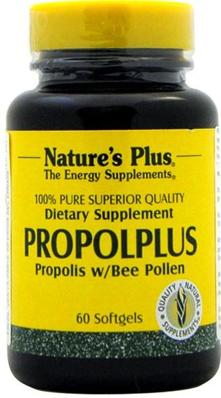 Nature's Plus Propolplus 60 cápsulas