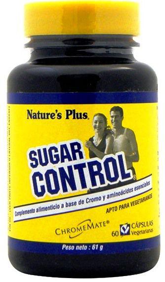 Nature's Plus Sugar Control 60 comprimidos